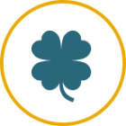 four leaf clover service agreement icon