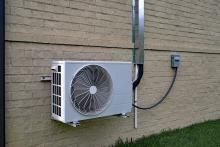 heat pump exterior compressor