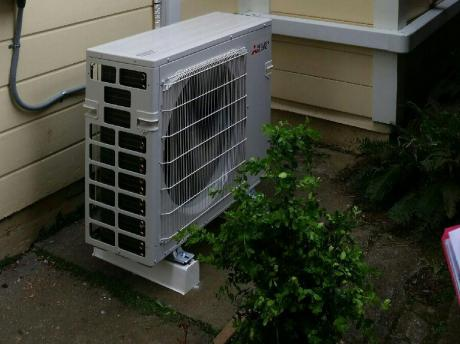 Mitsubishi Electric Heat Pump Outdoors