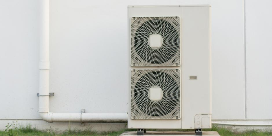 ducted heat pump exterior unit