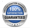 hundred percent satisfaction guaranteed
